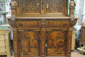Restauratie van een renaissance buffetkast dankzij het Fonds Courtin-Bouché