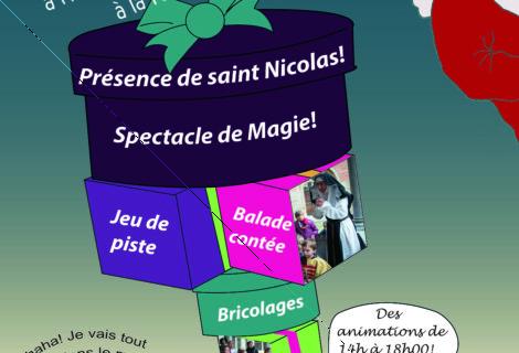 Après-midi famille du 26/11/17, Saint Nicolas à l'Hôpital