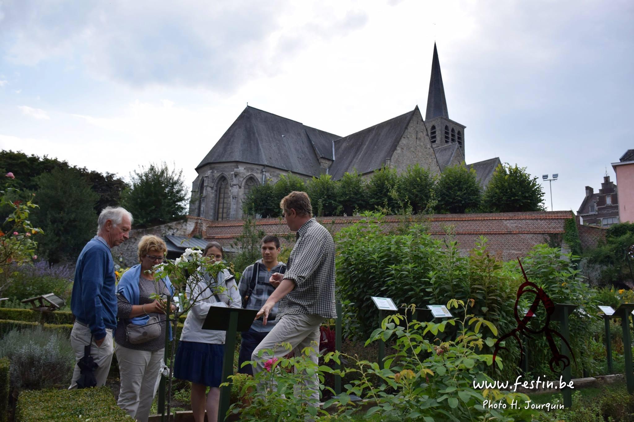 Yves Vanopdenbosch sera présent dans nos jardins de simples le samedi 14/07