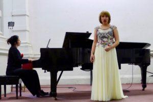 Op zondag 11 maart duo zang/piano met Paulien en Tzvetana