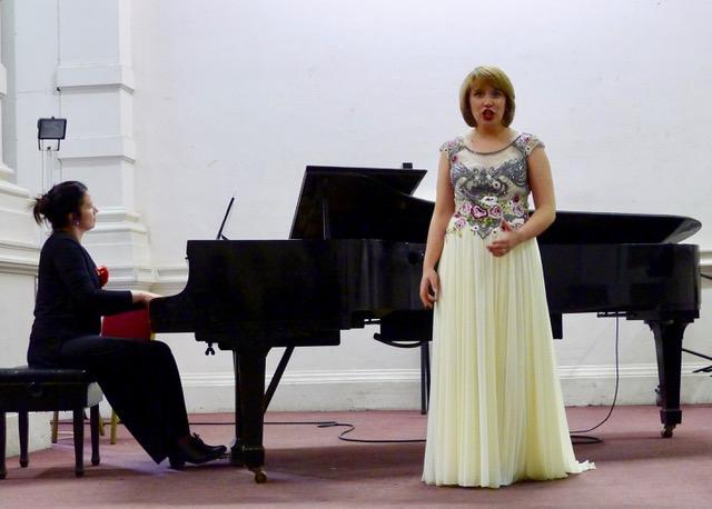 Le dimanche 11 mars le duo chant piano Paulien et Tzvetana en concert