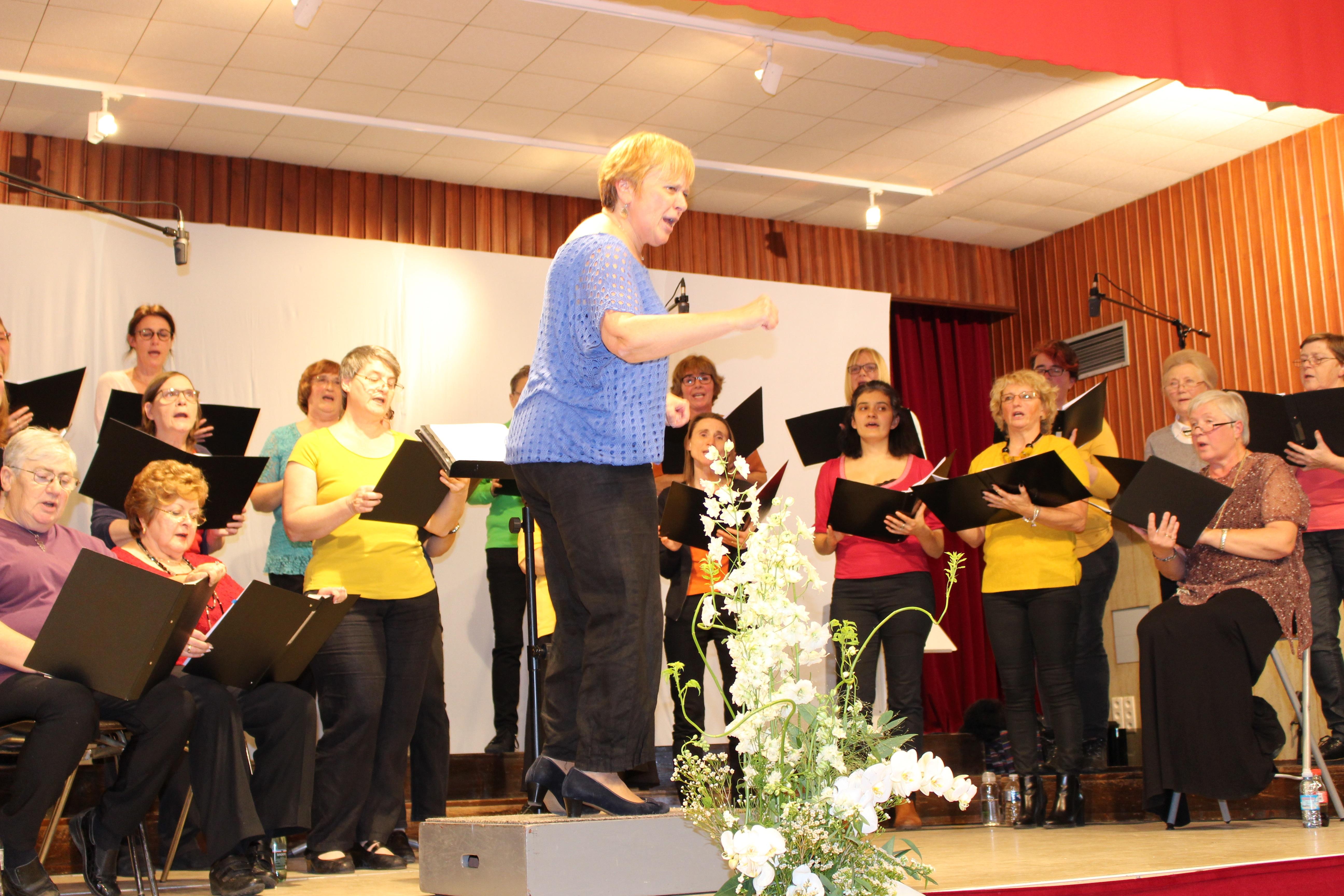 Concert de la chorale Serenata, le dimanche 22/04 à 18h