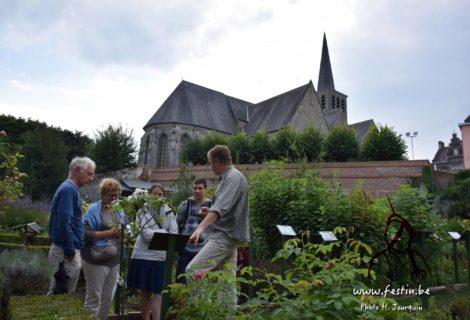 Le 23 juin, Yves Vanopdenbosch vous présente les plantes du jardin