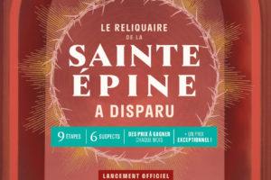 Le reliquaire de la Sainte Épine a disparu – Enquête (Dernières éditions le W-E du 14 & 15/12)