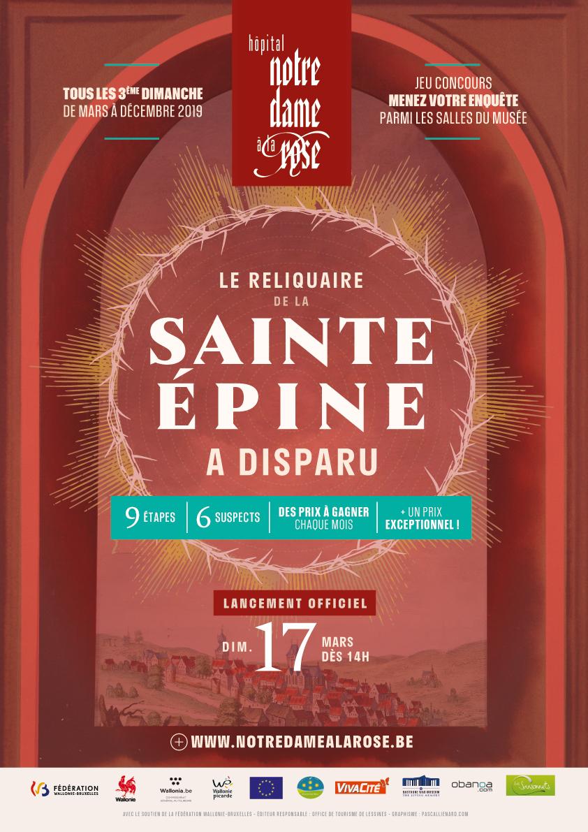 Le reliquaire de la Sainte Épine a disparu – Enquête (lancement le dimanche 17/03)