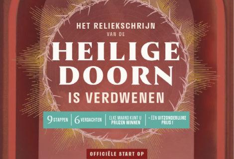 Het reliekschrijn van de Heilige Doorn is verdwenen – zondag 17/03