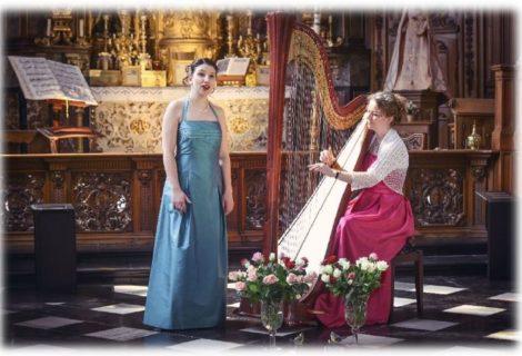 Duo Melpomena, zang en harp (23/08)