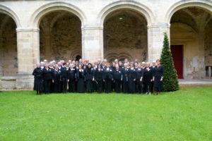 Concert de la chorale Guillaume Dufay de Chimay, dimanche 20/10 à 17h