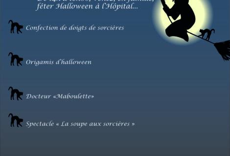 Après-midi Familles Halloween, le 26/10 dès 14h