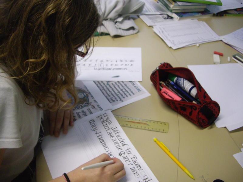 Atelier découverte de la calligraphie, le dimanche 8 novembre à 14h30