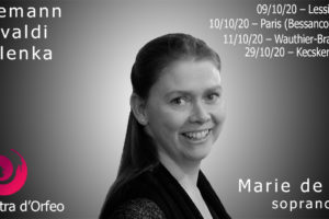 Concert : La Cetra d'Orfeo le vendredi 9 octobre en soirée