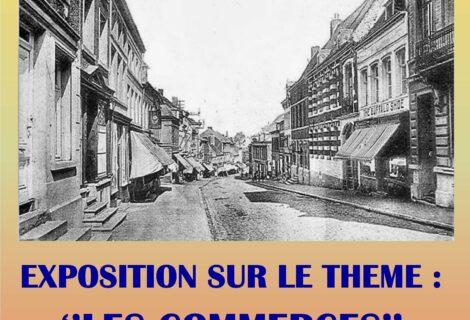 Exposition «  Les commerces de Lessines au XXe siècle ».