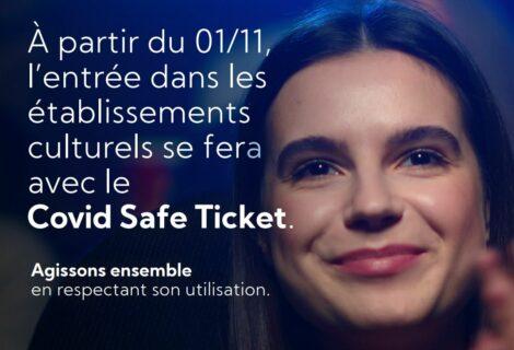 Le Covid safe ticket d'application dans le musée dès le 1/11